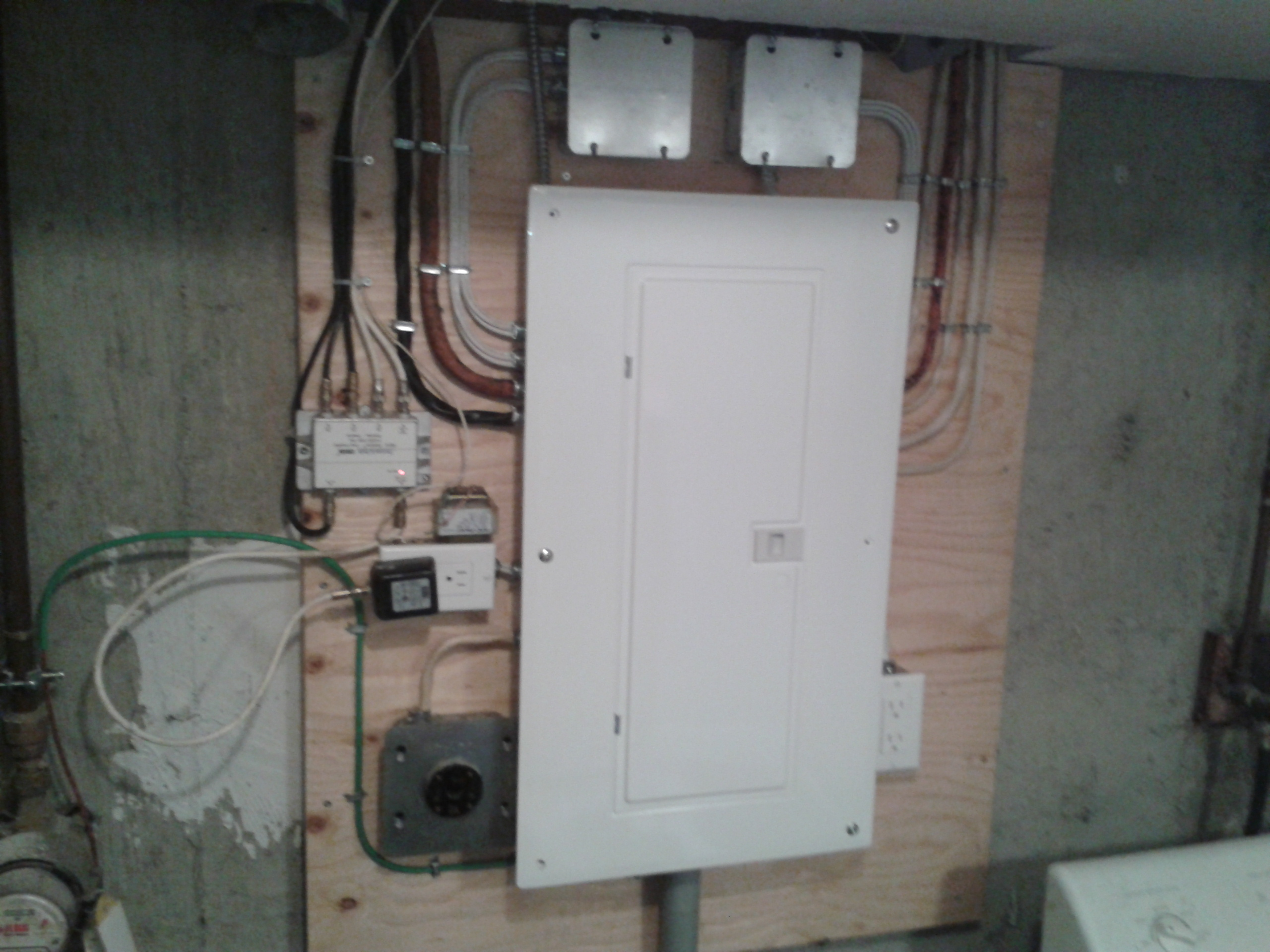 100 Amp Power Panel Upgrade By A Calgary Electrician Electrical Wiring And Circuit Breakers