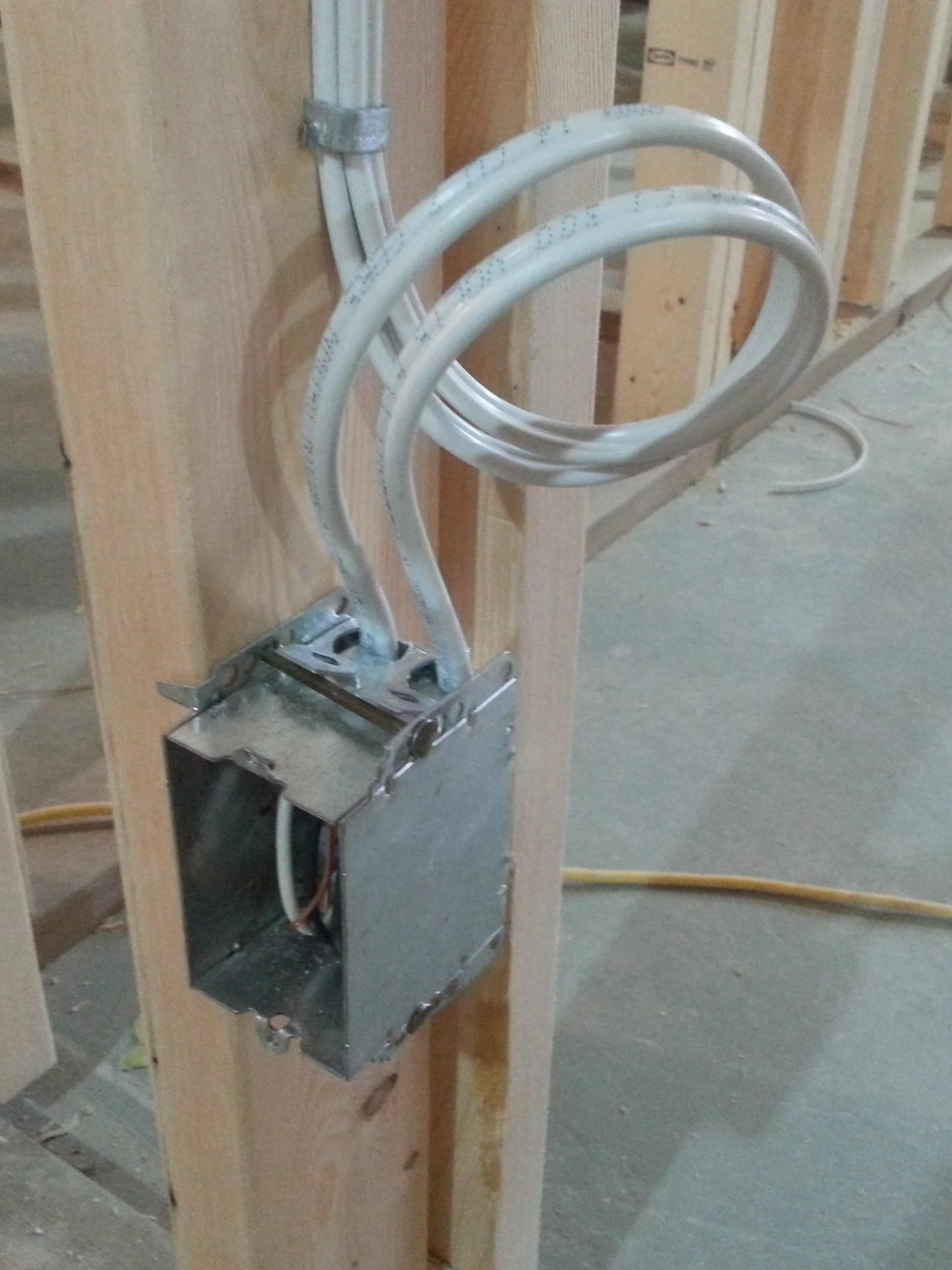 Residential Electrician Calgary Electrical Services Rough Wiring Gallery
