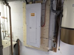 After 100 amp panel upgrade 2