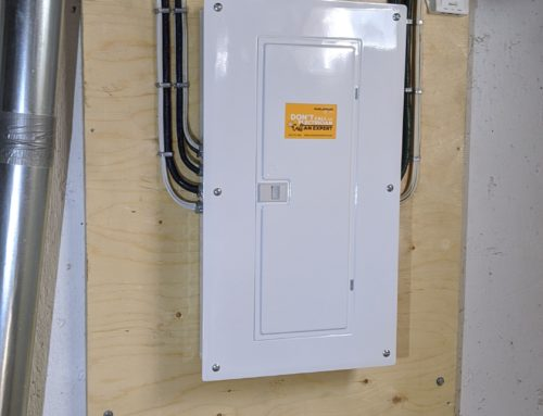 Double 100 Amp Panel and Service Upgrade